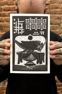 THE GRASSHOPPER LIES HEAVY print - proyecto eclipse