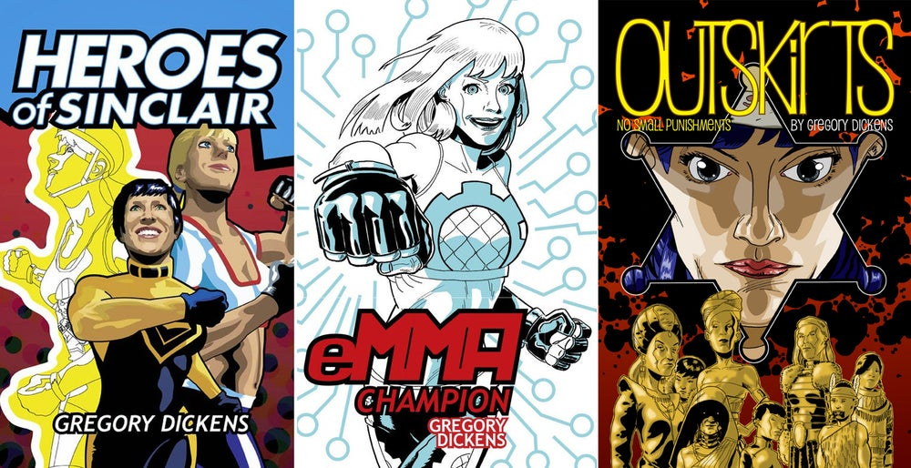Image of eMMA and Heroes Of Sinclair and Outskirts bundle