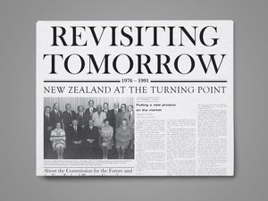 Image of Revisiting Tomorrow Newspaper - 30 October 2019