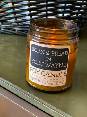 Image of Ft. Wayne Born & Bread Candle