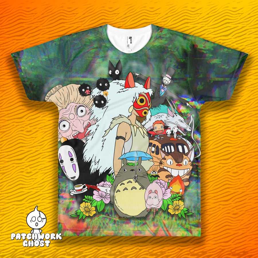 Image of Ghibli All Over Print Shirt