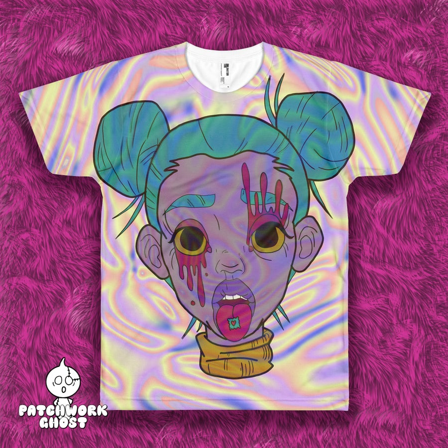 Image of Rave Girl All Over Print Shirt