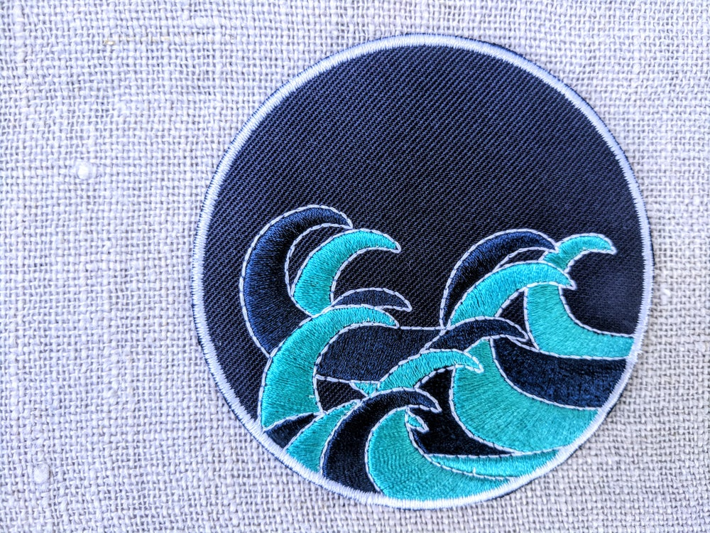 Image of OSHEN waves patch