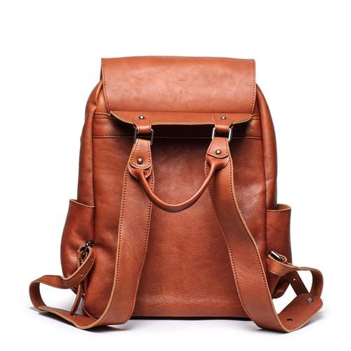 Image of Handmade Full Grain Leather Backpack, School Backpack, Travel Backpack, Rucksack 9031