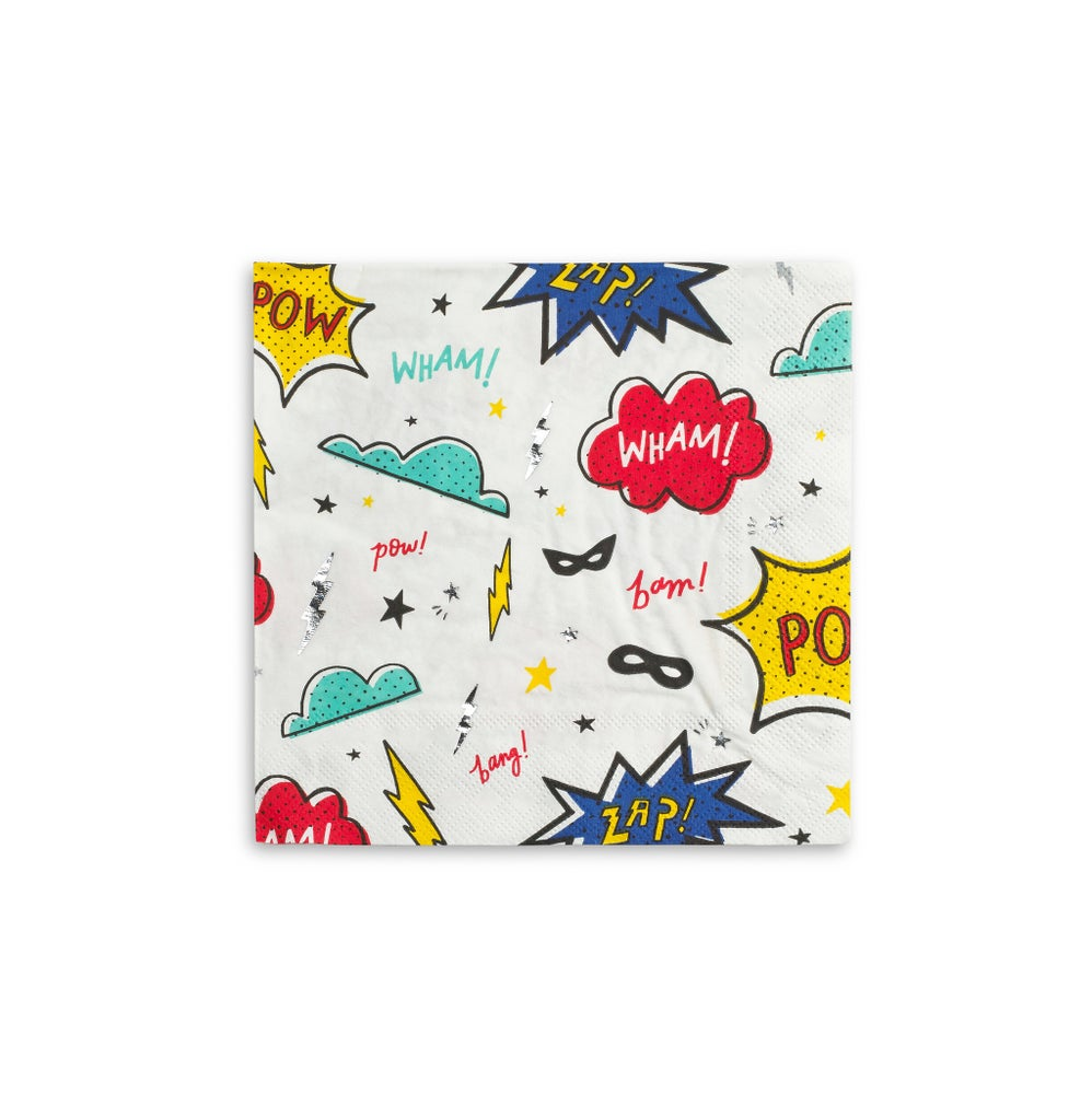 Image of Super hero napkins