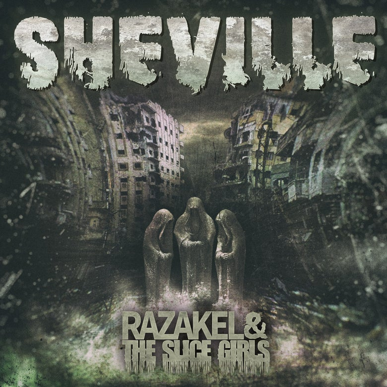 "Image of Razakel & The Slice Girls ""SHEVILLE"" CD"