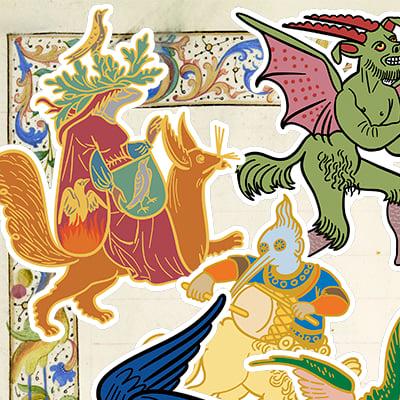 Image of Scriptorium Stickers
