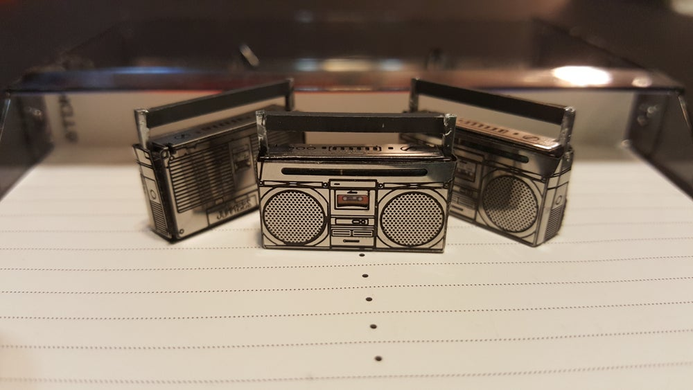 Image of Ghetto Blaster set of 2