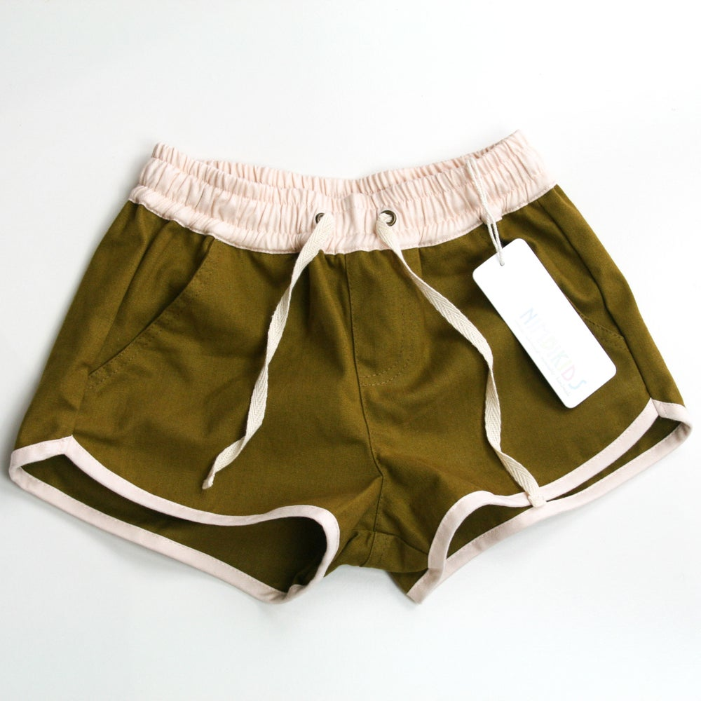 Image of Happy Camper Shorts - Gumnut