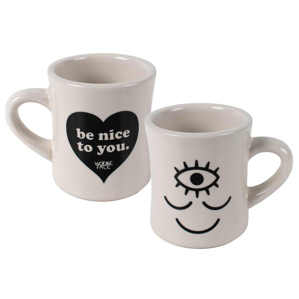 Image of Wokeface / Be Nice to You Mug