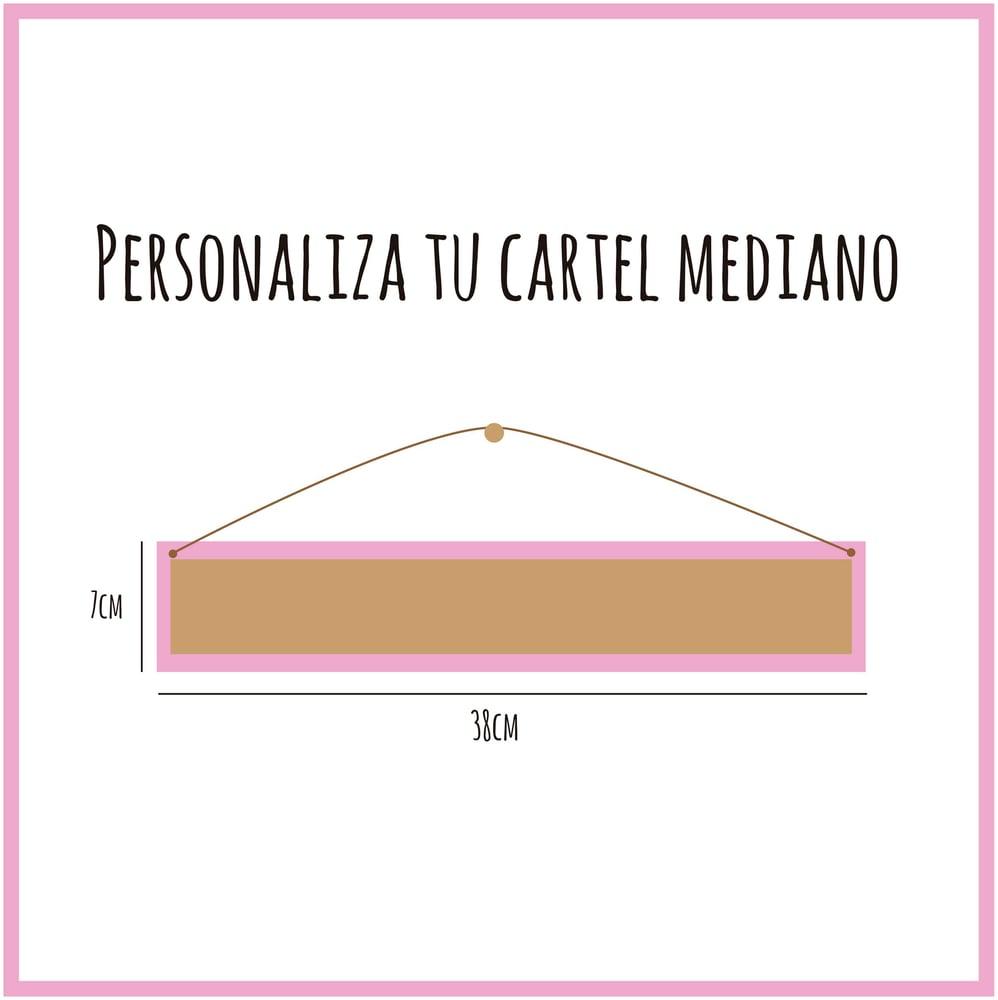 Image of Cartel personalizado Mediano
