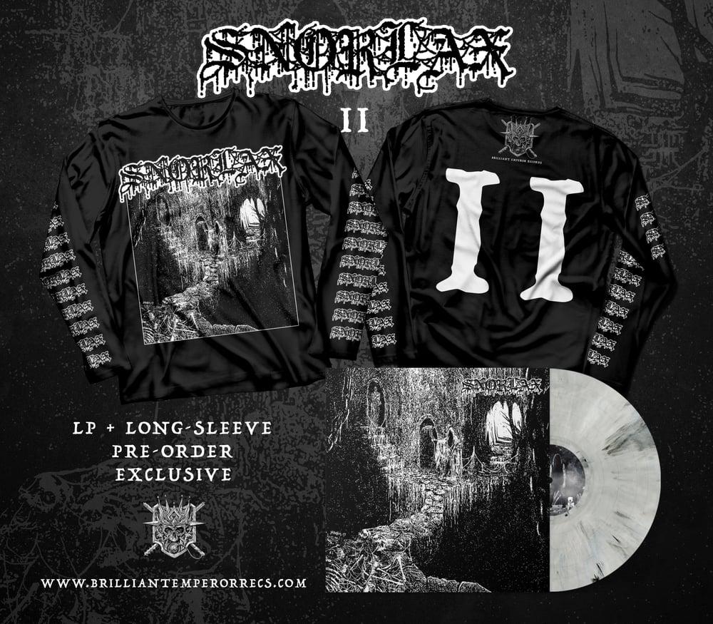Snorlax 'II' LP/Long-sleeve Bundle