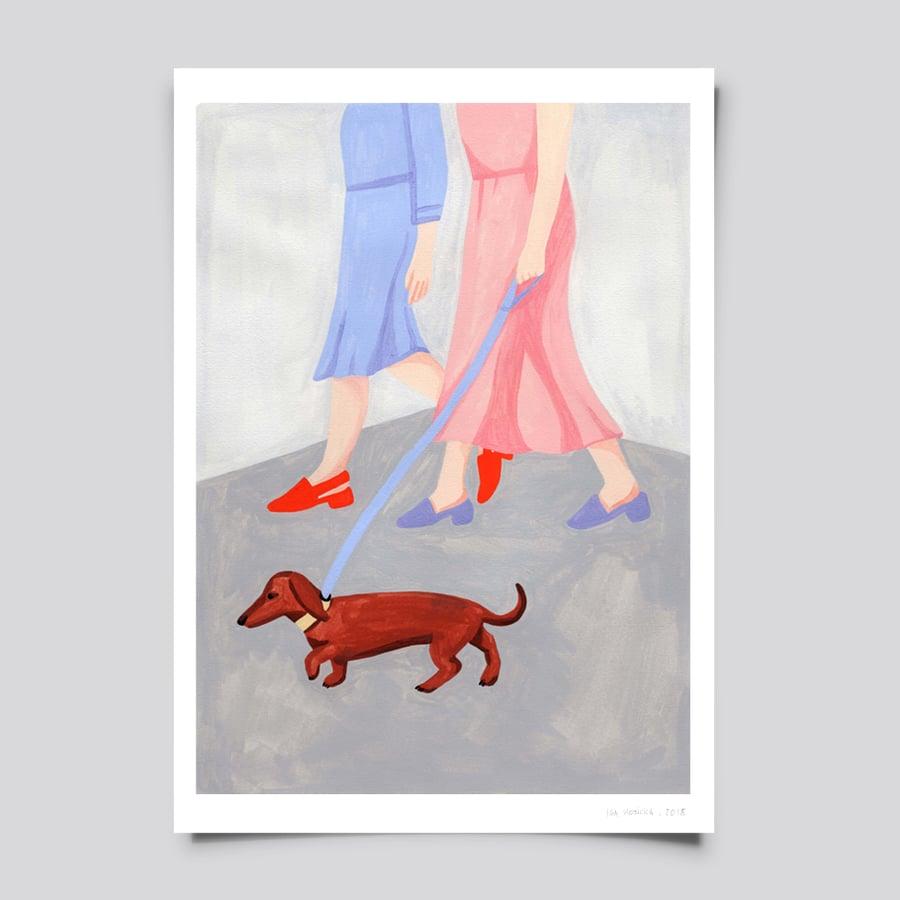 Image of dog days