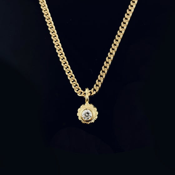 Image of Cheri Necklace / 24k gold-coated silver
