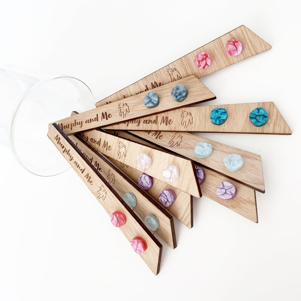 Image of Mini colour pop studs