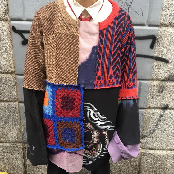 Image of PATCHWORK SWEATER