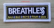 Image of NEW!  BREATHLESS 2020 TOUR PATCH - £5 each