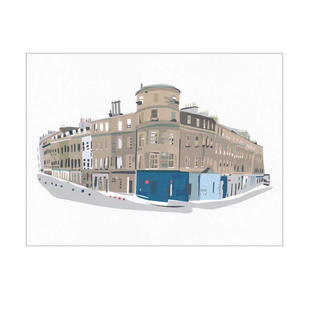 Image of Barony Street digital print