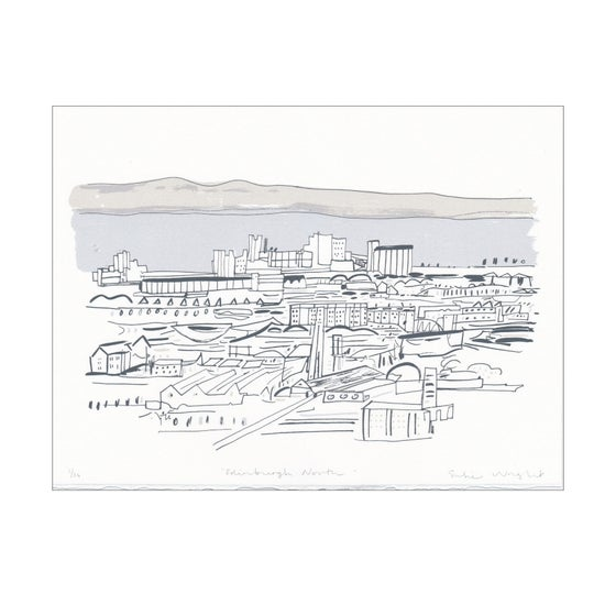 Image of Edinburgh North screen print