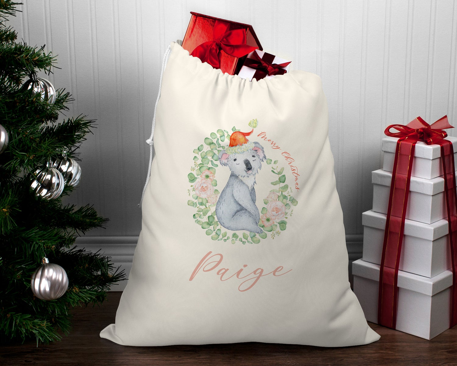 Image of Fundraising Special Edition Sleeping Koala Santa Sack