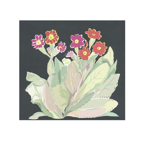 Image of Primula screen print