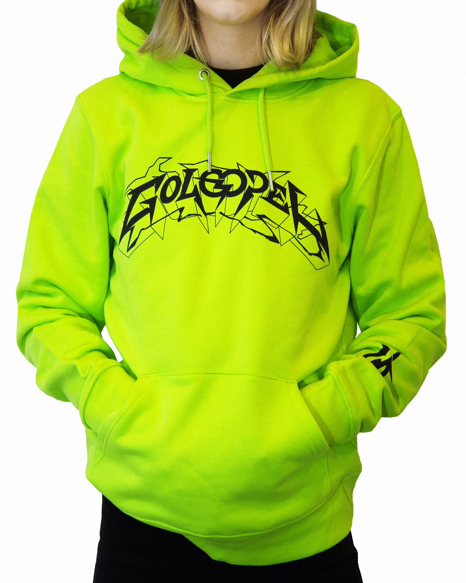 Image of Hoodie Electric FLUO