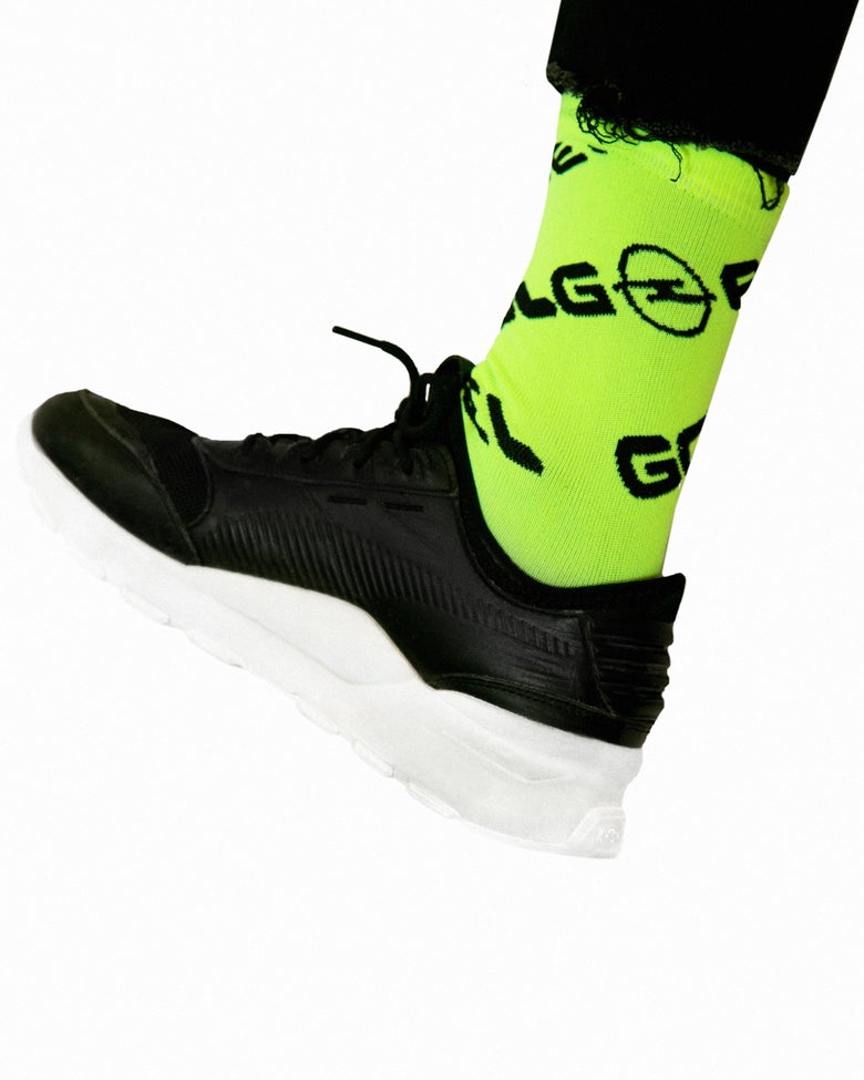 Image of Socks FLUO