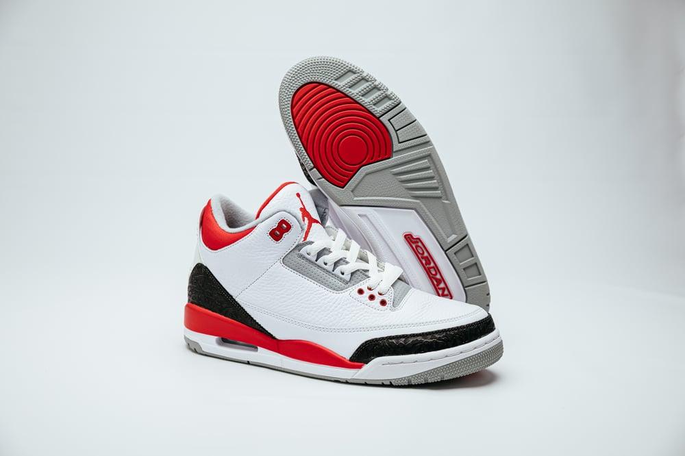 Image of Air Jordan 3 Retro - Fire Red