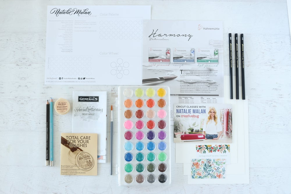 Image of Black Friday Watercolor Kit & Class
