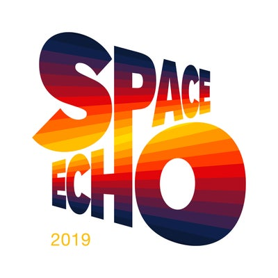 Image of Vinyl | Space Echo (Live) + poster