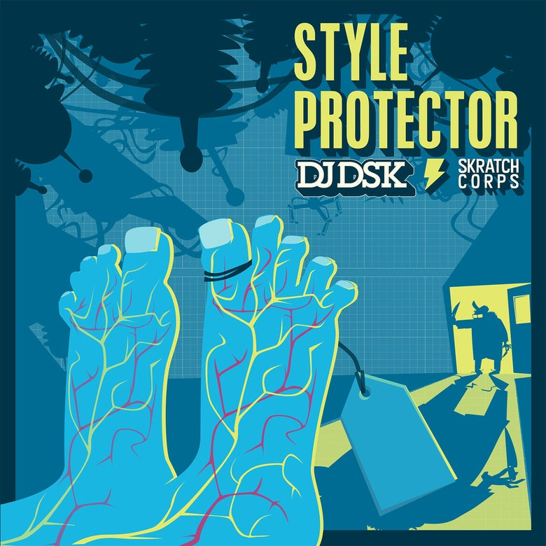 "Image of 7"" Vinyl - DJ DSK, Matman, DJ Koncept and menAce - Style Protector"
