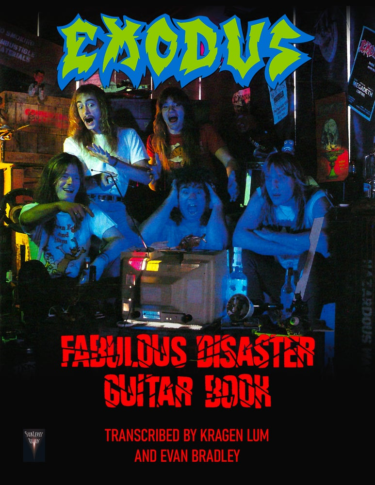 Image of Exodus - Fabulous Disaster Guitar Book (Deluxe Print Edition + Digital Copy)