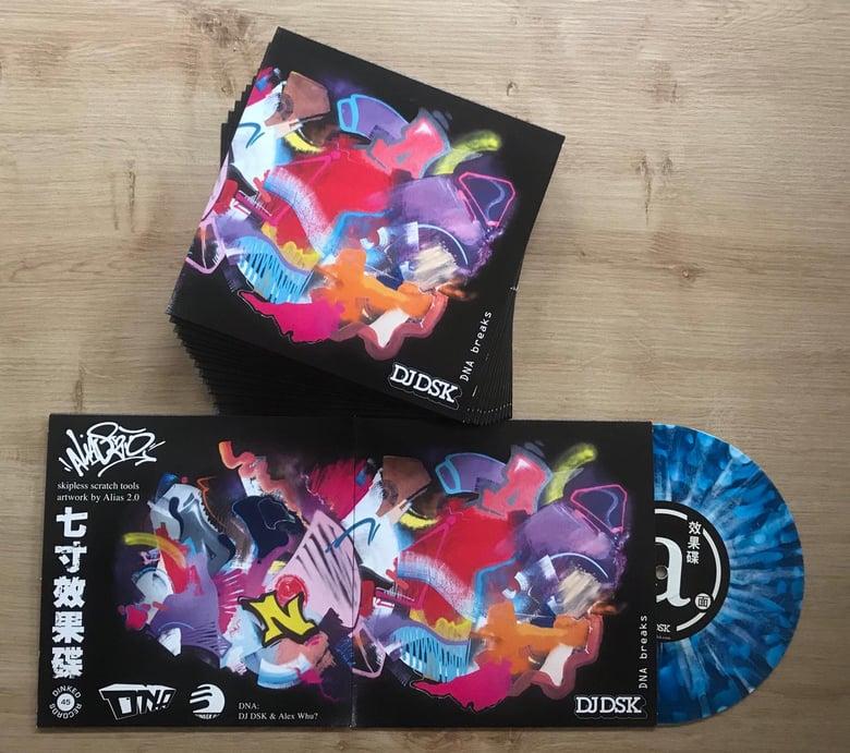 "Image of 7"" Vinyl - DJ DSK - DNA Breaks"