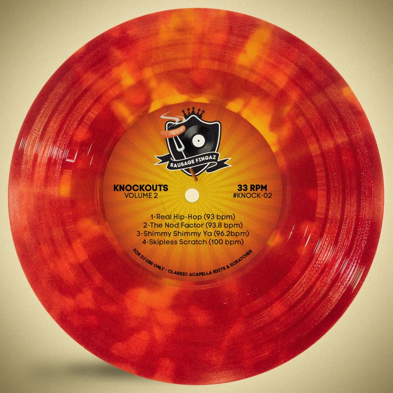 "Image of 7"" Vinyl - Sausage Fingaz - Knockouts Vol 2"