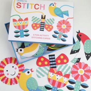 Image of Learn to Stitch Activity Cards