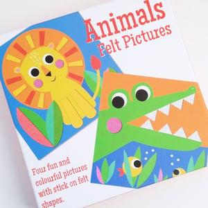 Image of Animals Felt Pictures