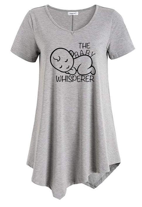 Image of BABY WHISPERER LONG TAIL TEE