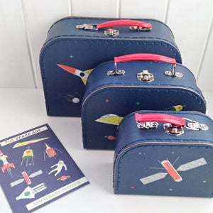 Image of Space Age Suitcase Set