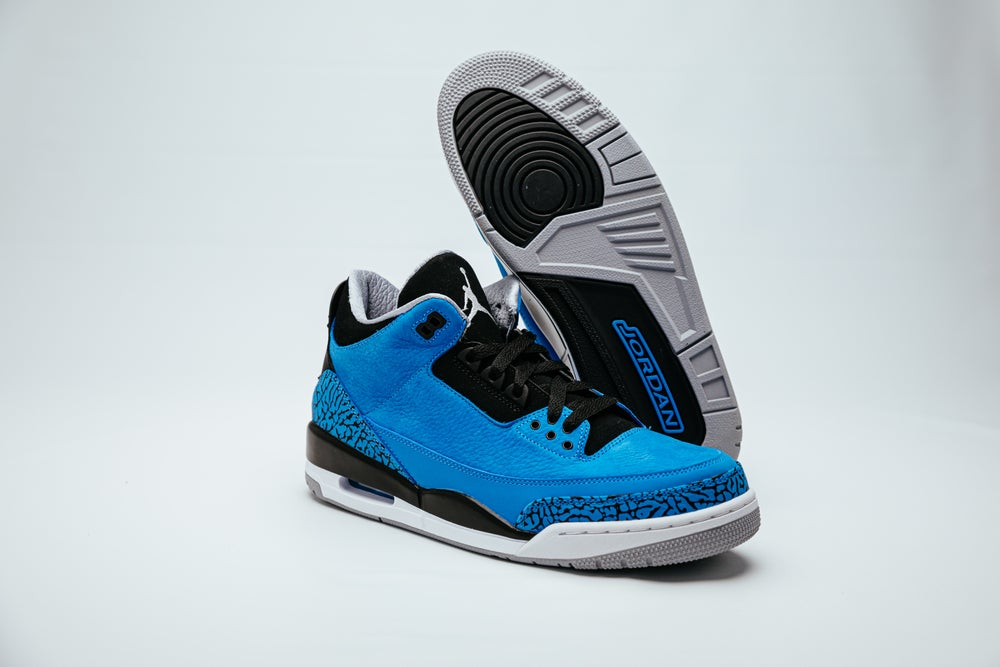 Image of Air Jordan 3 Retro - Powder Blue