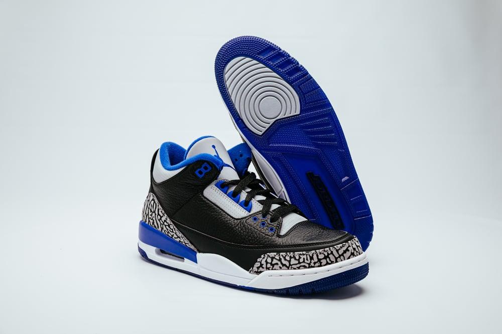 Image of Air Jordan 3 Retro - Sport Blue