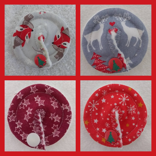 Image of Christmas Tubie Pads