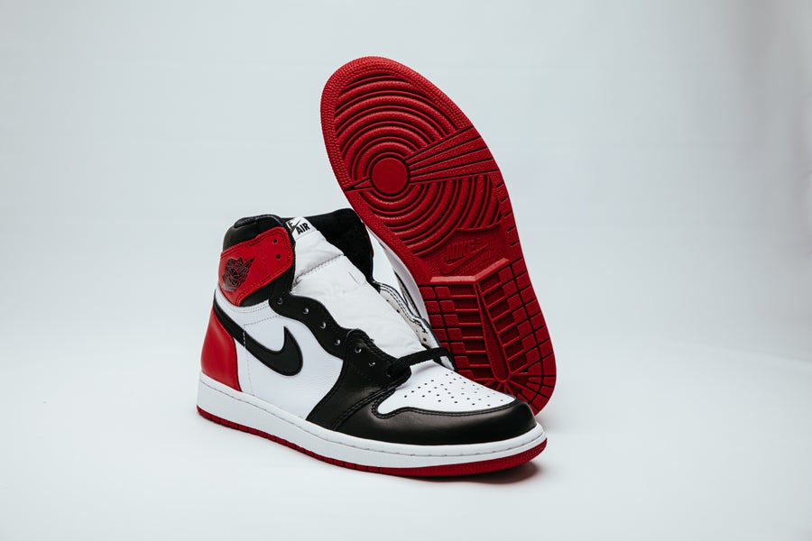 Image of Air Jordan 1 Retro - OG Black Toe