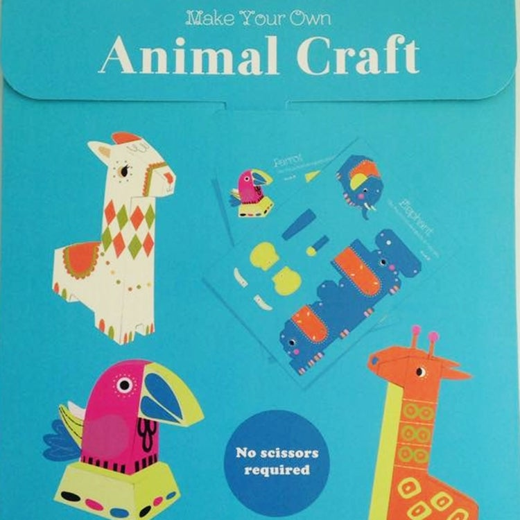 Image of Make Your Own Animal Craft Activity Set
