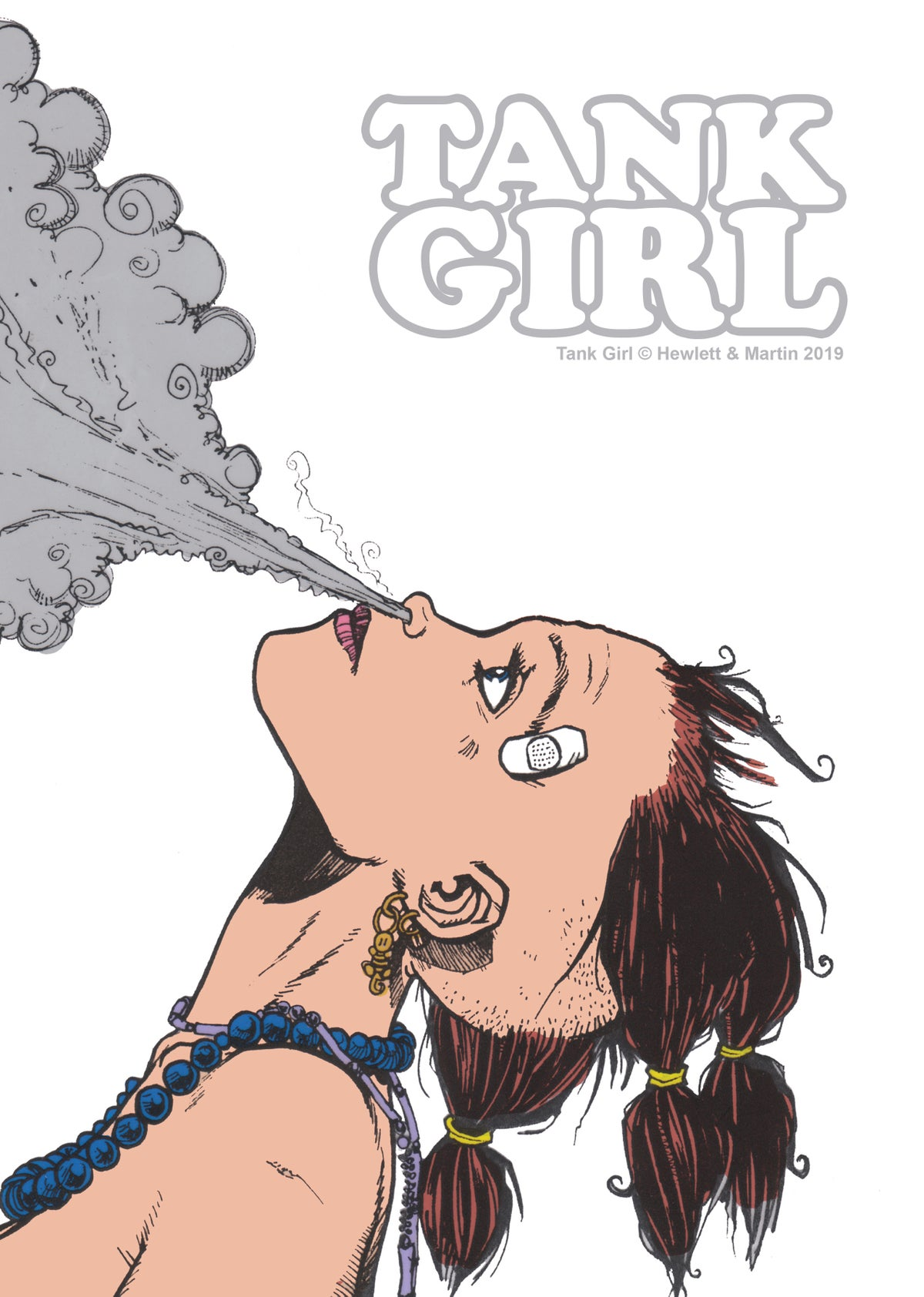 Image of Tank Girl Pin-Up Book One - with signed print