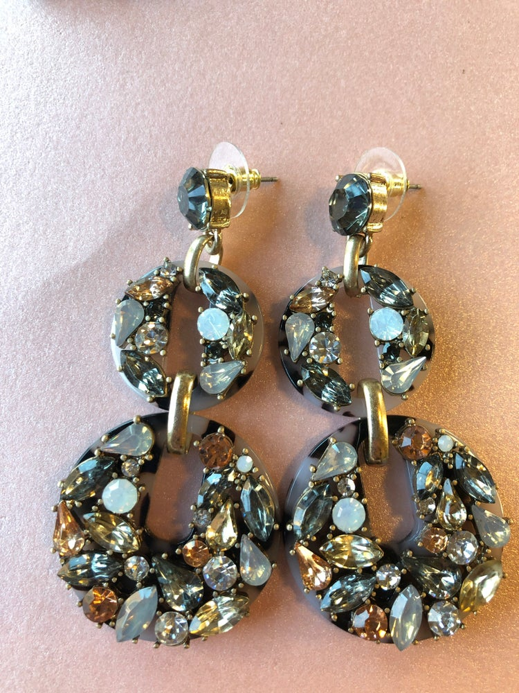 Image of Dani Cluster Earrings