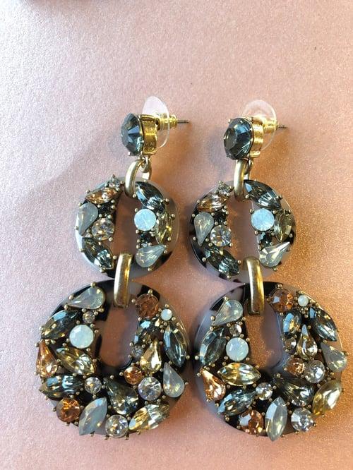 Image of Dani Cluster Earrings