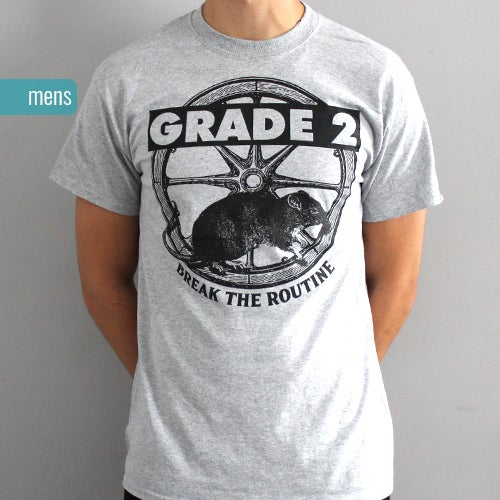Image of [50% OFF] Break The Routine Grey | T-Shirt