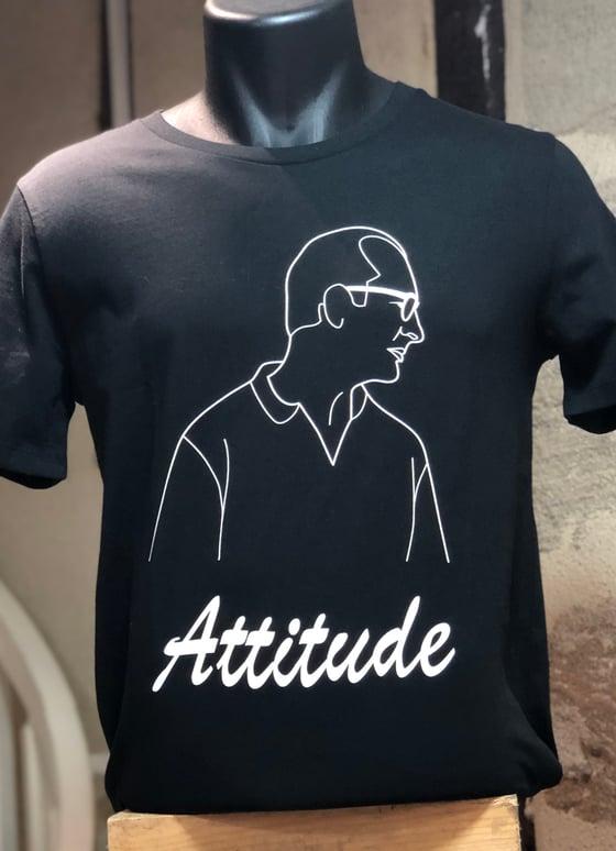 Image of T-Shirt Chirac Attitude Noir
