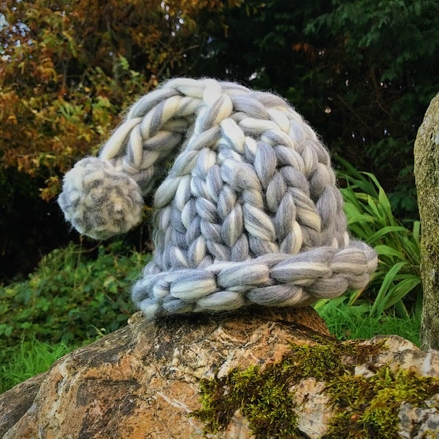 Image of Fairy-tale hat - chunky knit merino