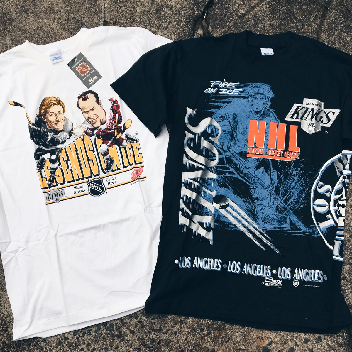 Image of Original 90's Salem Sportswear NHL Tees.